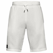Pánské kraťasy Under Armour Rival Fleece Short - Onyx White