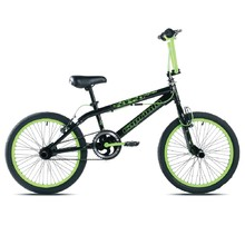 "BMX kolo Capriolo Totem 20"" - model 2017 - Black Green"