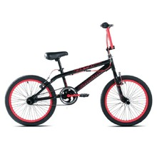 "BMX kolo Capriolo Totem 20"" - model 2017 - Black Red"