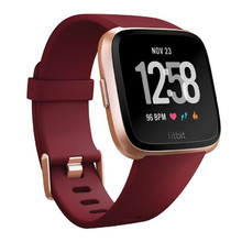 Pulzmetr Fitbit Versa Merlot Band/Rose Gold Case