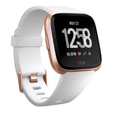 Pulzmetr Fitbit Versa White Band/Rose Gold Case