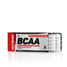 Aminokyseliny Nutrend BCAA Compressed Caps 120 kapslí