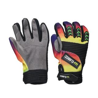 Moto rukavice W-TEC Infryso NF-5300 šedo-duhová - XL