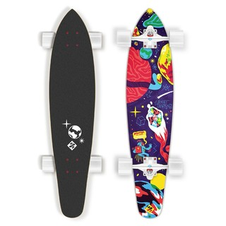 Longboard Street Surfing Kicktail - Space 36""