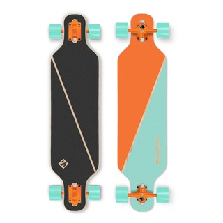 "Longboard Street Surfing Freeride - Nordic Orange 39"" 2015"