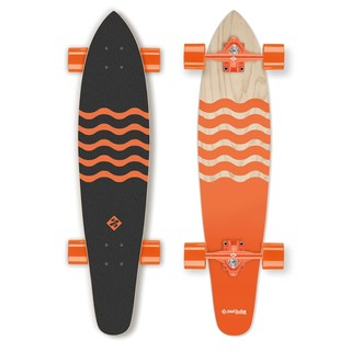 Longboard Street Surfing Kicktail - Blown Out 36""