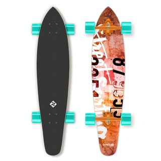 Longboard Street Surfing Kicktail - Urban Rough 36""