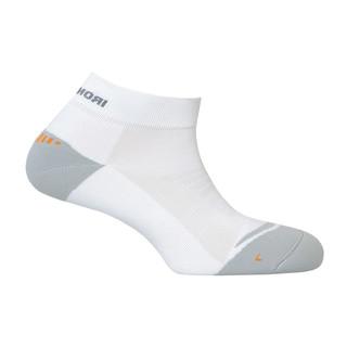 Tréninkové ponožky IRONMAN Training Running Quarter bílá - 35-38