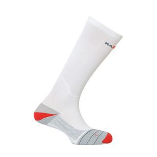Kompresní ponožky IRONMAN Compression bílá - 39-42