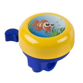 Dětský zvonek M-Wave 3D Žlutá s rybkou