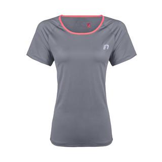 Dámské běžecké tričko Newline Imotion Tee - kratký rukáv šedá - S