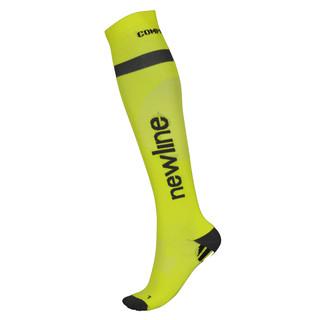 Kompresní běžecké podkolenky Newline Compression Sock neon - XL (43-46)