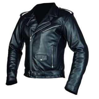 Pánská moto bunda OZONE Ramones černá - 3XL