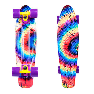 "Penny board WORKER Colory 22"" - Acid Rainbow (duhová)"