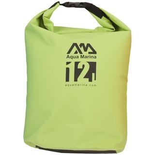 Nepromokavý vak Aqua Marina Super Easy Dry Bag 12l zelená