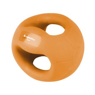 Medicineball s úchopy inSPORTline Grab Me 2 kg