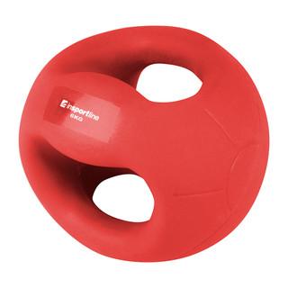 Medicineball s úchopy inSPORTline Grab Me 6 kg
