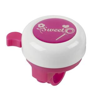 Dětský zvonek M-Wave 3D Bílo-fialová Sweet