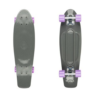 "Penny board Big Fish 27"" - Grey-Silver-Summer Purple"