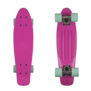 "Penny board Fish Classic 22"" Magenta-Silver-Summer Green"