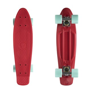 "Penny board Fish Classic 22"" Red-Silver-Summer Green"