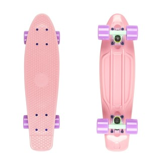 "Penny board Fish Classic 22"" Summer Pink-Green Purple-Summer Purple"