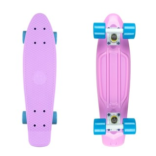 "Penny board Fish Classic 22"" Summer Purple-White-Blue"