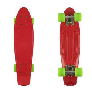 "Penny board Fish Classic 22"" Red-Silver-Green"