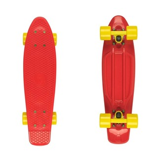 "Penny board Fish Classic 22"" Red-Yellow"