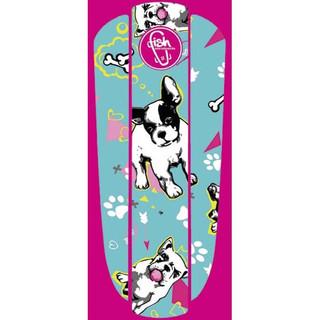 "Nálepka na penny board Fish Classic 22"" Green Puppy"