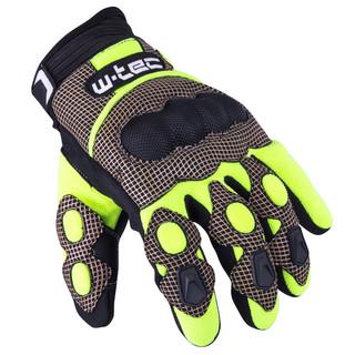 Motokrosové rukavice W-TEC Derex GID-30007 černo-žlutá - XXL