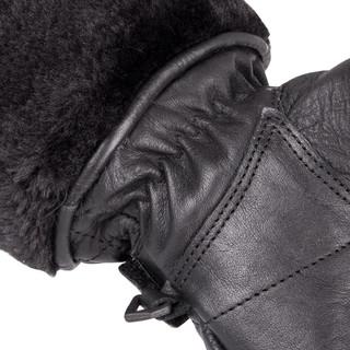 Dámské kožené rukavice W-TEC Stolfa NF-4205 - černá
