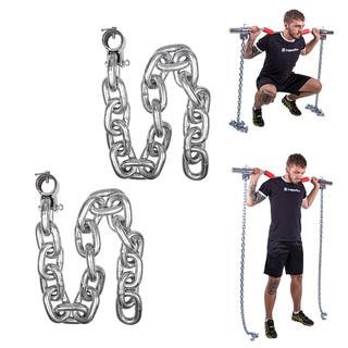 Vzpěračské řetězy inSPORTline Chainbos 2x25 kg
