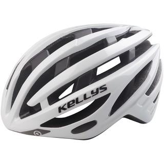 Cyklo přilba Kellys Spurt bílá - M/L (58-62)