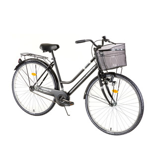 "Dámské trekingové kolo Kreativ Comfort 2812 28"" - model 2018 Black - Záruka 10 let"