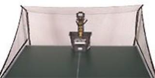 Síť k robotu na vystřelování pingpongových míčků