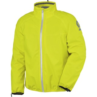 Moto pláštěnka SCOTT Ergonomic PRO DP žlutá - 4XL