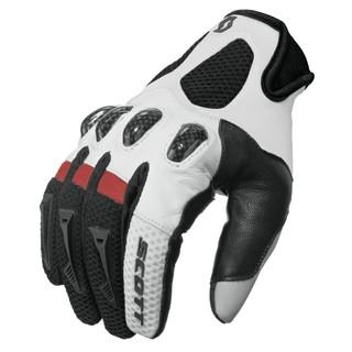 Motokrosové rukavice SCOTT Assault černo-červená - XXL