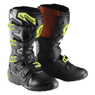 Motokrosové boty SCOTT 350 Boot černo-zelená - 42