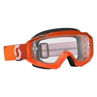 Moto brýle SCOTT Hustle MXVII Clear Orange
