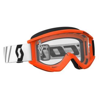 Motokrosové brýle SCOTT Recoil Xi MXVII Clear Orange-Black