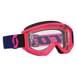 Motokrosové brýle SCOTT Recoil Xi MXVII Clear blue-fluo pink