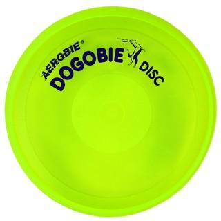 Létající talíř pro psy Aerobie DOGOBIE žlutá