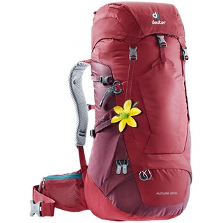 Turistický batoh DEUTER Futura 28 SL cranberry-maron