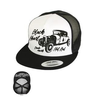 Kšiltovka BLACK HEART Coupe 32 Trucker bílá