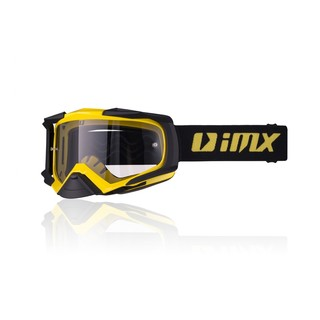 Motokrosové brýle iMX Dust Yellow-Black Matt