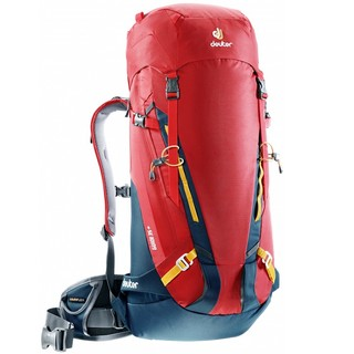 Horolezecký batoh DEUTER Guide 35+ cranberry-navy