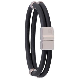 Magnetický náramek inSPORTline Toliman černá - 22 cm
