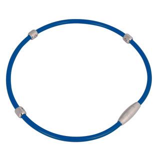 Magnetický náhrdelník inSPORTline Alkione modrá - 55 cm