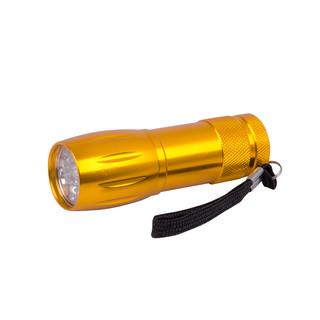 Hliníková příruční svítilna BC BCS 193 žlutá